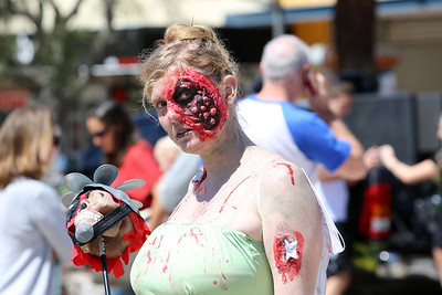 Perth Zombie Walk 2013