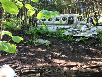 Plane  crash near Waterrock