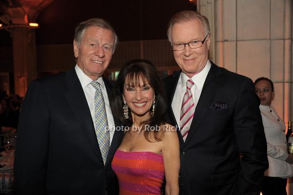 Helmut Huber, Chuck Scarborough, Susan Lucci   photo  by Rob Rich © 2014 robwayne1@aol.com 516-676-3939