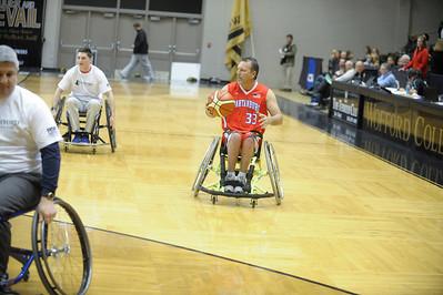 Halftime Wheelchair Hoops