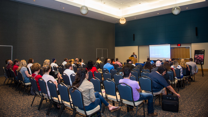 Students attend the Hispanic Heritage Month event Creating a Legacy - Life of Dr. Hector P. Garcia.  Check out the Hispanic Heritage Month events: http://hispanicheritagemonth.tamucc.edu/