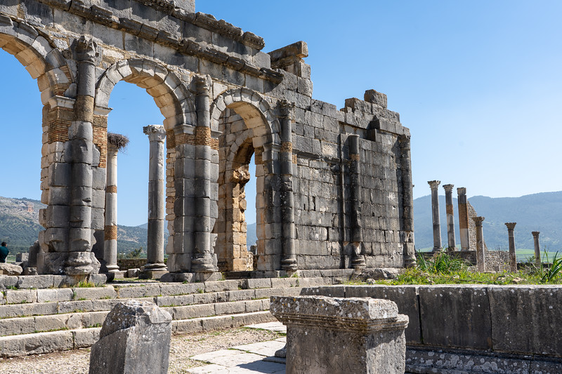 Ruins of Volubilis in Morocco
