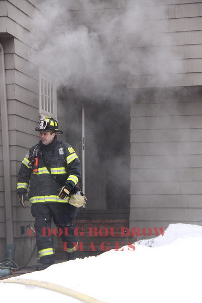 Melrose, MA - Working Fire, 34 Beacon Street, 2-16-13