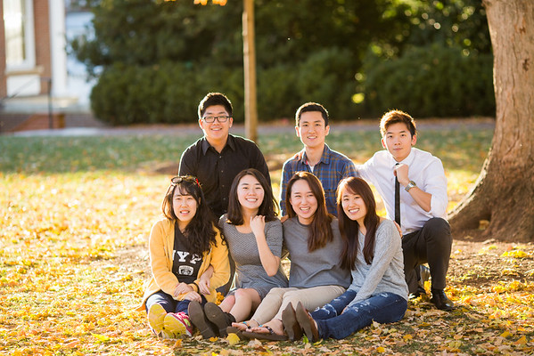UVA. Korean Students
