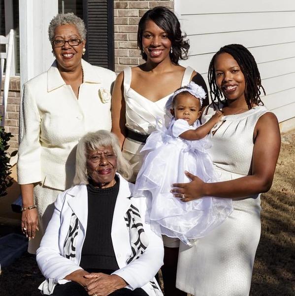 Rosella Ruckes Toomer - 4 generations