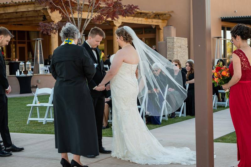 Sandia Hotel Casino New Mexico October Wedding Ceremony C&C-97.jpg