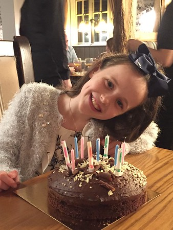 Amelia's 11th Birthday