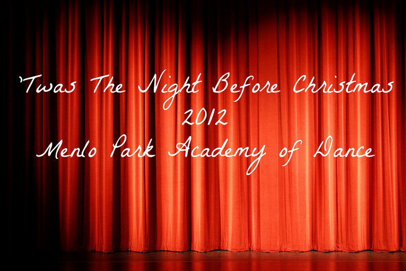 2012 'Twas The Night Before Christmas