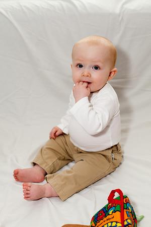 J Schultz 9 Months Portraits