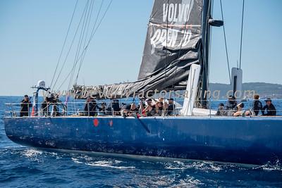 E1 OCEAN CHALLENGE Under Sail