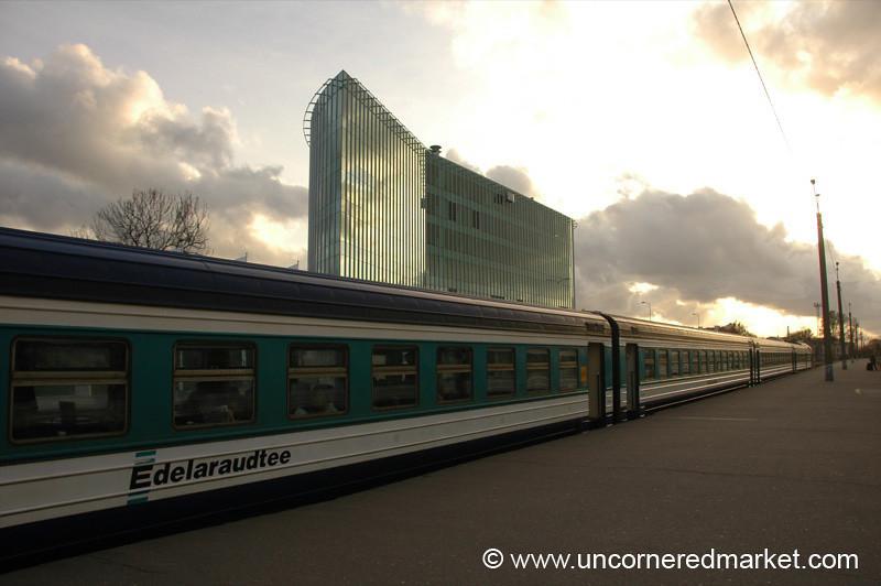 Tallinn's Train Station - Estonia
