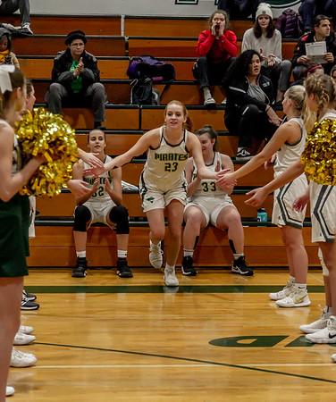 Pregame and Introductions, Set one: Girls Varsity Basketball v Northwest 12/05/2018