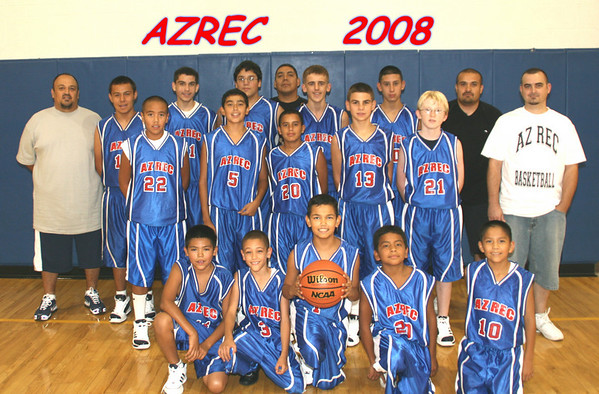 ARIZONA RECREATION BASKETBALL TEAM