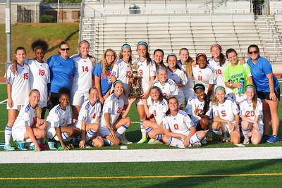 Girls Region Champions & Seniors