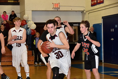 AMHS Boys JV Basketball vs Long Trail photos by Gary Baker