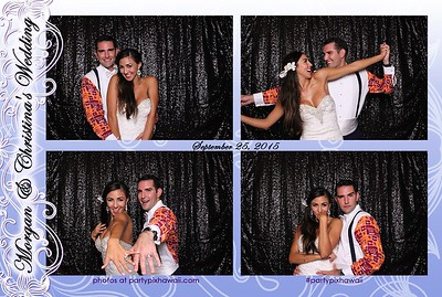 Morgan & Christina's Wedding (Mini Open Air Photo Booth)