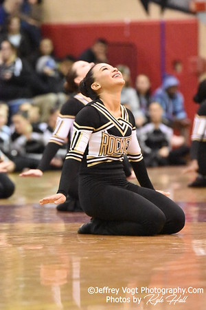 2-13-2016 Richard Montgomery HS Varsity Poms at Blair HS MCPS Championship, Photos by Jeffrey Vogt Photography with Kyle Hall