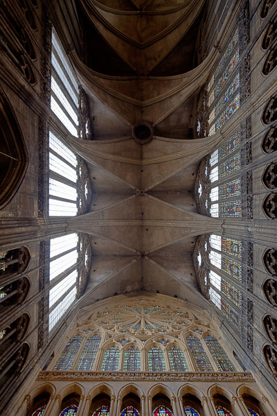 Metz Cathedral of Saint Stephen Nave Vaults