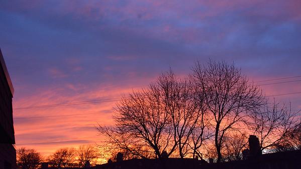 Sunset in Shawnee, Ks. 1.2.2019