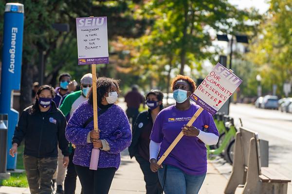 2020 10 05 SEIU Healthcare MN ULP Strike at Abbott