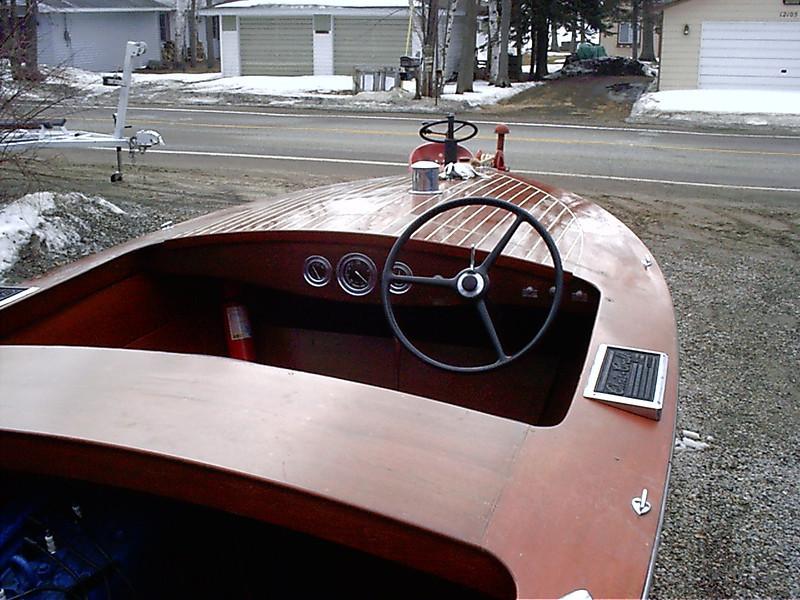 Front cockpit.
