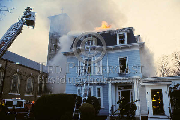 March 28, 1987 - Cambridge, MA - 3 Alarms at Massachusetts Ave and Hollis St