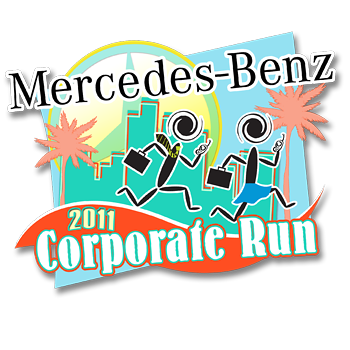 2011 Mercedes Benz Corporate Run Fort Lauderdale