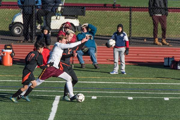 2017_11_10 Varsity Boys Soccer vs Bull. Havens