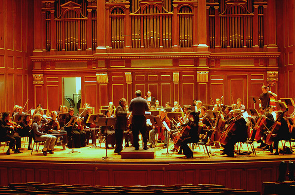 CIVIC SYMPHONY ORCHESTRA  MARCH 6,  2005 JORDAN HALL CONCERT AND REHEARSAL