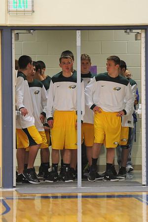 Boys Varsity Basketball @ Bondurant 2011-2012