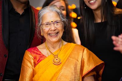 80th Birthday Celebration of Mrs Ambujam Pillai