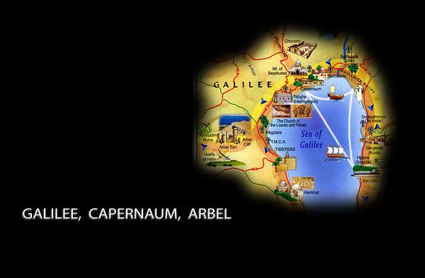 Israel 2 - Galilee, Capernaum, Arbel