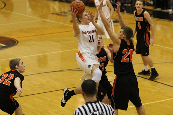 08 Boys Basketball:  Ironton at Wheelersburg 2018
