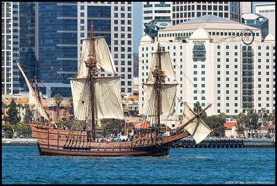 Tall Ships Parade  02SEP16