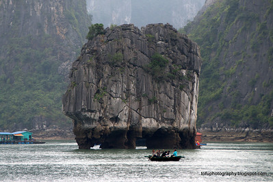 Ha long Bay visit pt 3 - January 2012