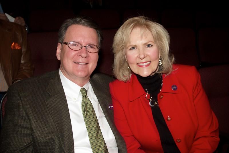 Dick and Sheila Clarke