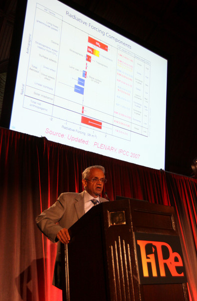 "Opening Night speaker V. ""Ram"" Ramanathan, Distinguished Professor of Climate Sciences and Director of C4, Scripps, UCSD, discusses ""Practical Strategies for Solving the Climate Problem"""
