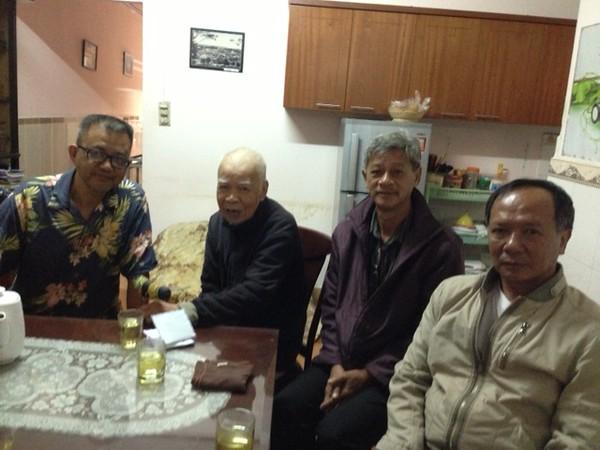 Nguyễn Hoàng Sơn, Thầy Lưu Văn Nguyên, Nguyễn Đình Tài, Nguyễn Đắc Hớn