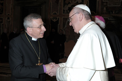 Bishop Younan Vists The Vatican