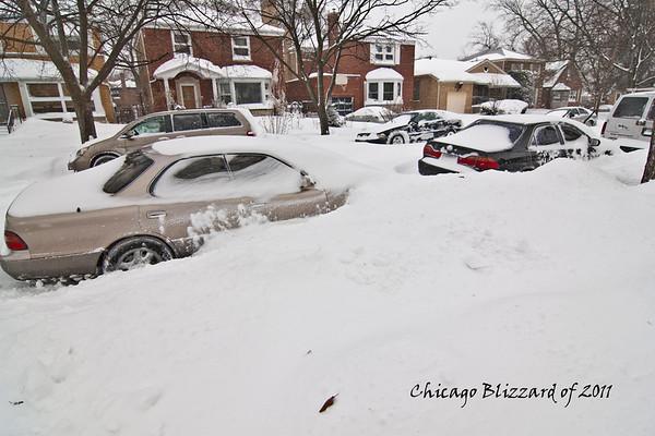 Chicago Blizzard of 2011 - Lake Shore Drive
