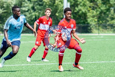 U17 Friendly: Chicago Fire v Sporting KC