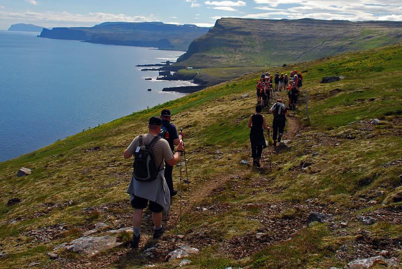 Hóparnir fra Hornvik og Látravík mætast