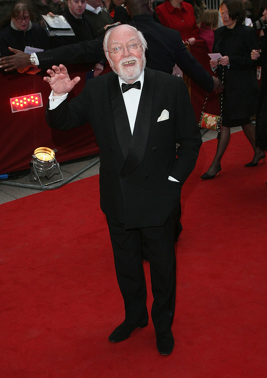 . British Actor And Director Richard Attenborough Dies Aged 90 LONDON - APRIL 09:  Lord Richard Attenborough attends the Galaxy British Book Awards held at the Grosvenor House Hotel on April 9, 2008 in London, England.  (Photo by Dan Kitwood/Getty Images)