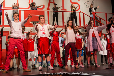 High School Musical Dress Rehearsal 1/17/17