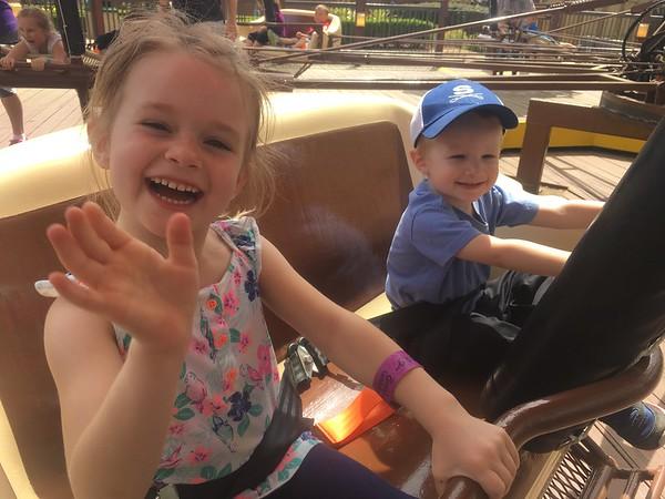 Busch Gardens  with CW & Ella