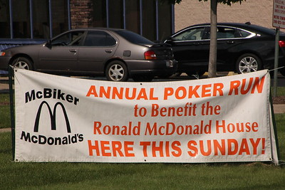 Ronald McDonald Motorcycle event July 2015