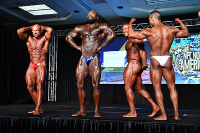 Men's Bodybuilding Masters 35+ Overall