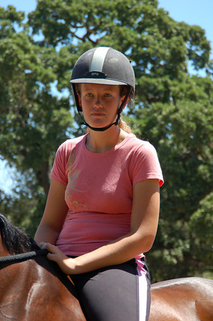 Horseback jumping lessons June 27 2009