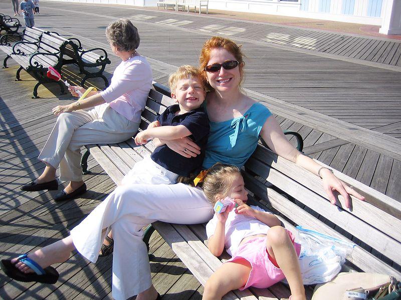 At the Disney Boardwalk.