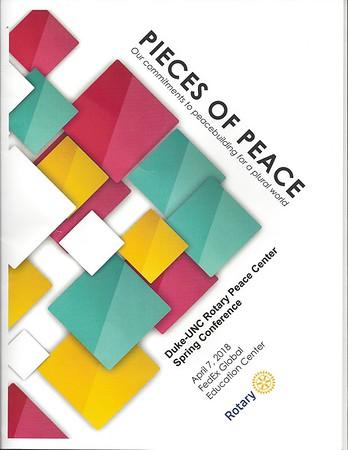 2018 Duke/UNC Peace Conference